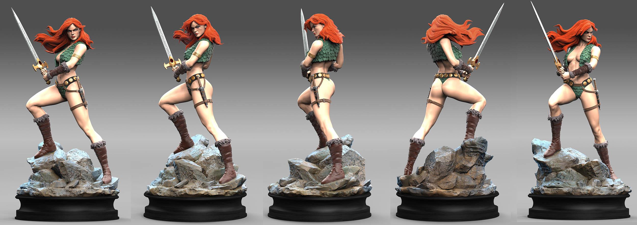 Storm main hero figurine