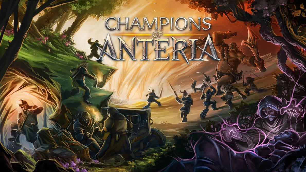 Fullcolor Illustration Poster for Champions of Anteria