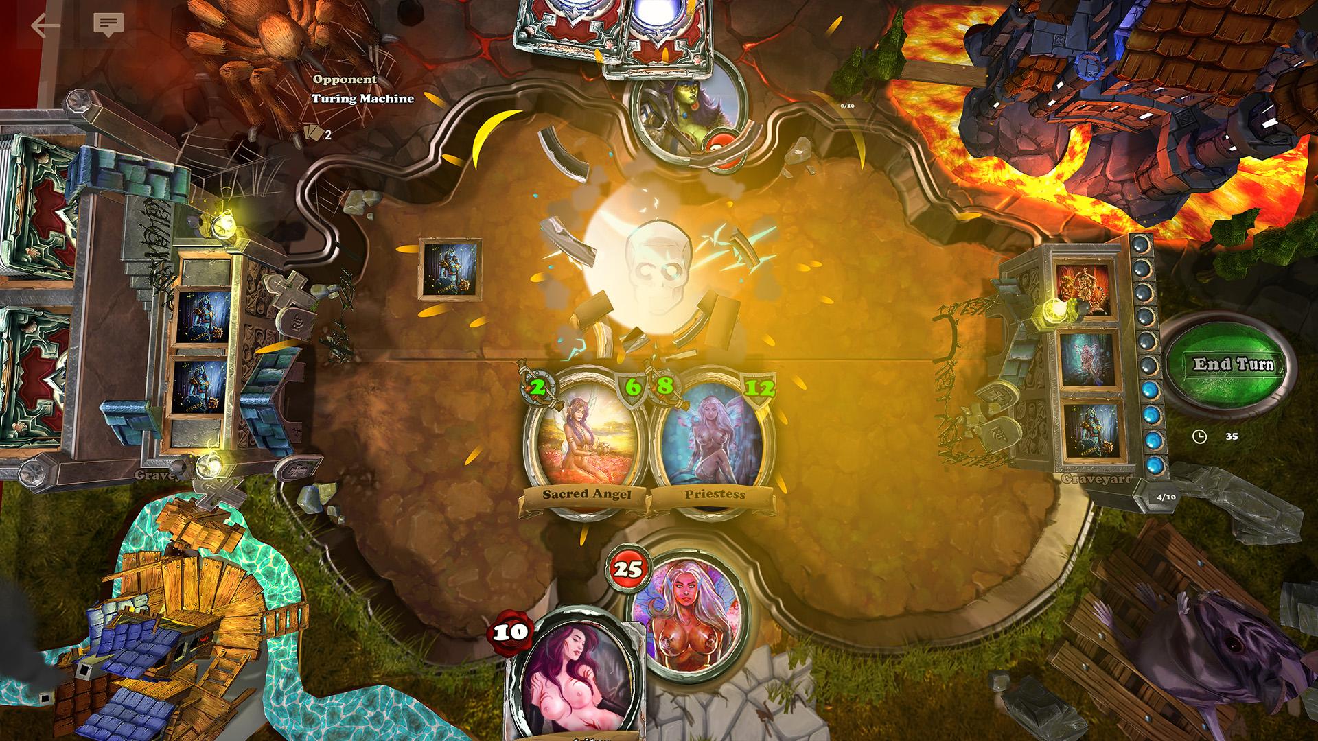 Devious Creatures main game screen